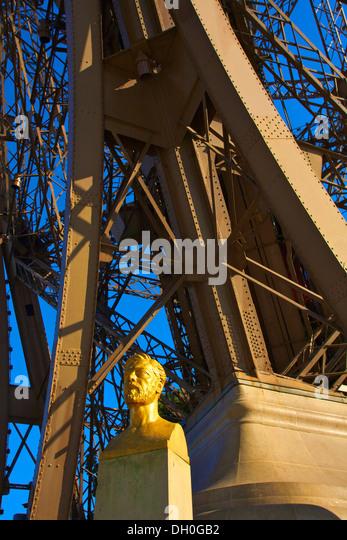Gustave eiffel eiffel tower paris stock photos gustave for Eiffel architect