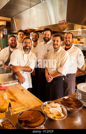 Restaurant Kitchen Staff kitchen restaurant staff stock photos & kitchen restaurant staff
