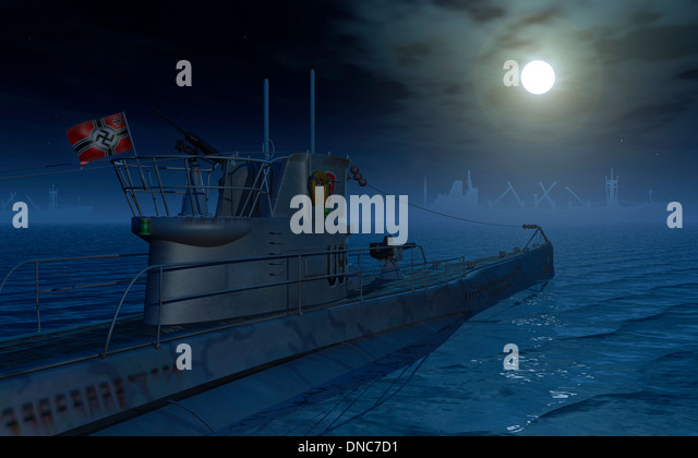 Image result for u boats in the moonlight