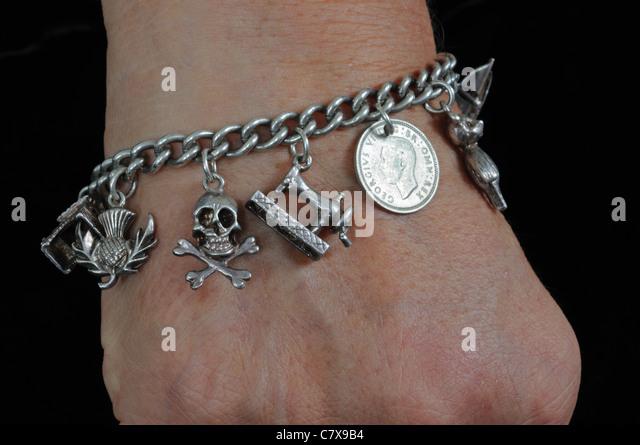 charm bracelet stock photos amp charm bracelet stock images