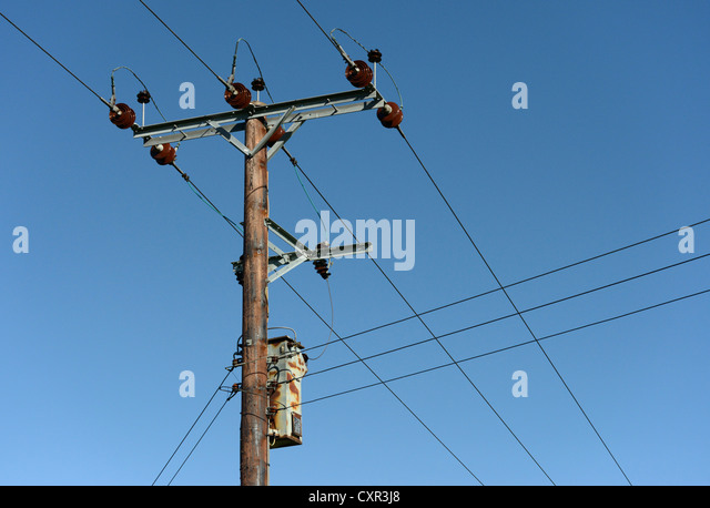 Pole Overhead Line Structures : Transmission fuse location thermostat