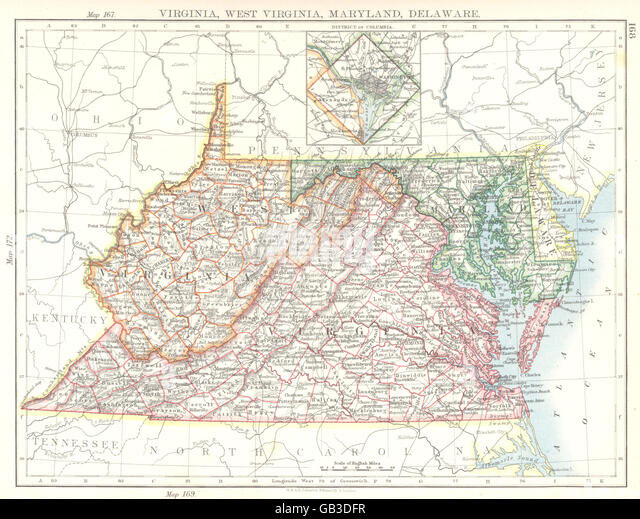 West Virginia Map Stock Photos West Virginia Map Stock Images - Map of usa virginia