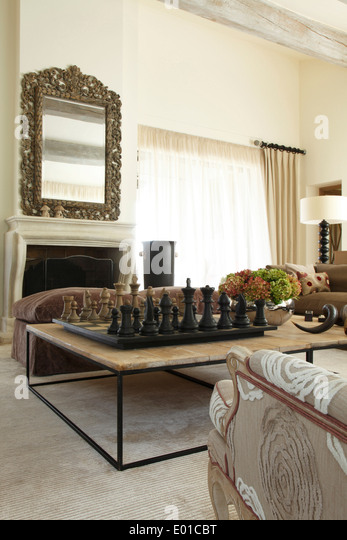 Surprising-Chess-Game-Table-Decorating-Ideas-Images-in-Living-Room ...