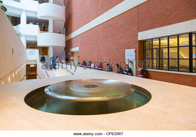 Interior Of The British Library In London Euston Road Camden United