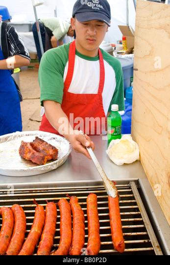 Asian sausage fest
