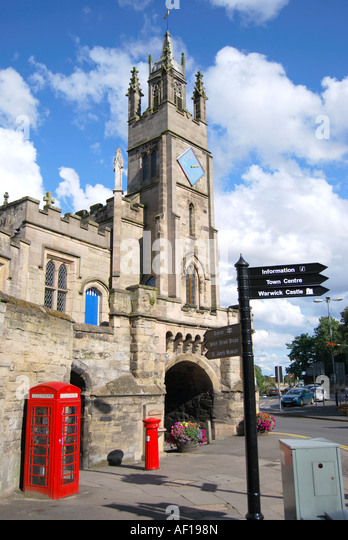 Wighton United Kingdom  City pictures : ... Tower, Warwick, Warwickshire, England, United Kingdom Stock Image