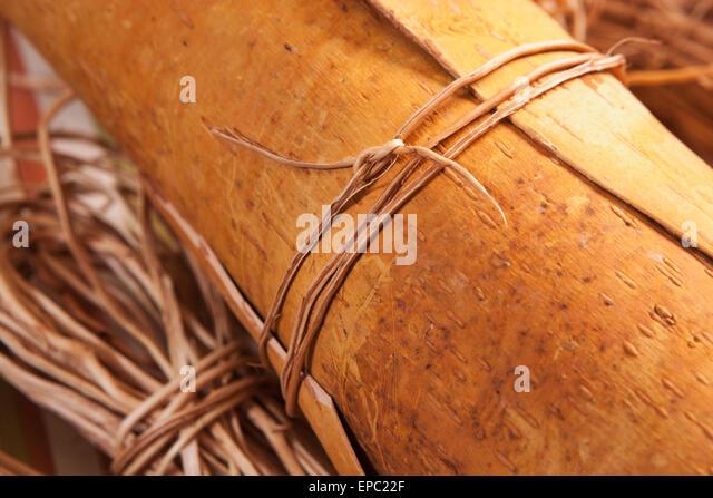 Basket Making Materials : Basket making stock photos images