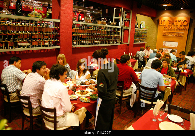 El Patio Parilla Restaurant, Mendoza, Argentina.   Stock Image
