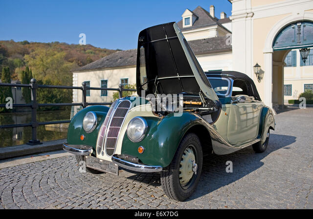 Vintage BMW 327 28, Convertible, Saloon Car, Built In 1939   Stock