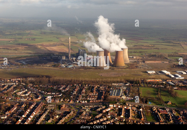 Aerial View Rugeley Power Station Stock Photos & Aerial ...