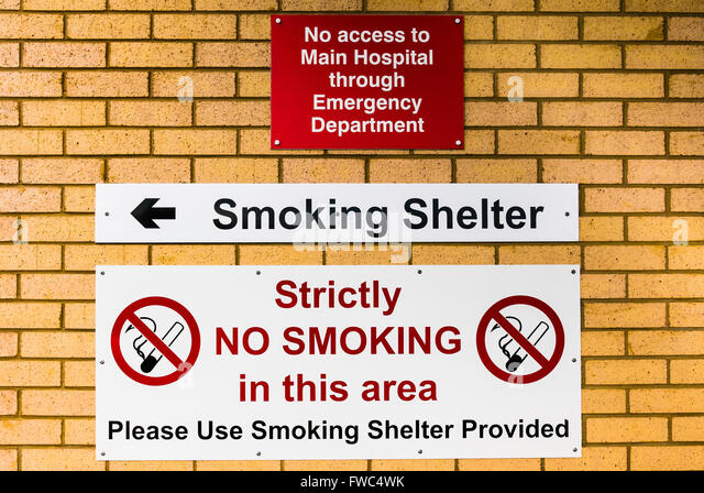 Warning and emergency signs stock photos warning and emergency signs at the entrance of a hospital emergency department warning tha no access to the sciox Image collections