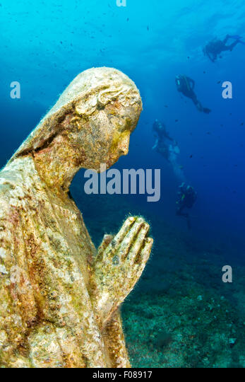 Statue of virgin mary stock photos statue of virgin mary stock images alamy - Dive residence massa lubrense ...