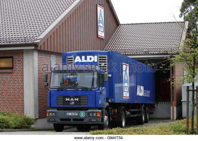 unloading truck germany stock photos unloading truck germany stock images alamy. Black Bedroom Furniture Sets. Home Design Ideas