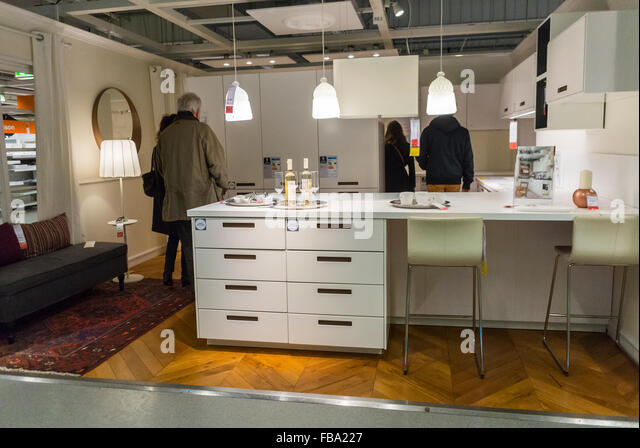 Paris modern kitchen furniture stock photos paris modern for Someone to assemble ikea furniture