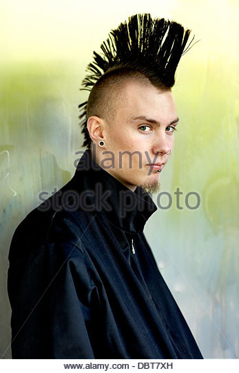 mohawk hair styles for mohawk hairstyle stock photos amp mohawk hairstyle stock 1814