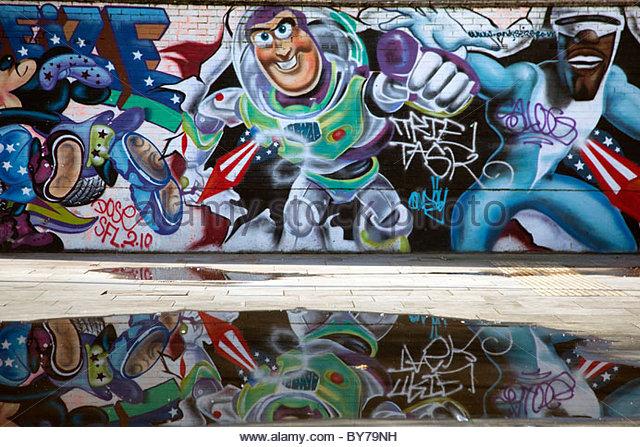 Buzz lightyear stock photos buzz lightyear stock images for Buzz lightyear wall mural