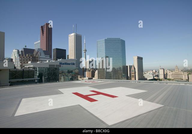 Hospital Helicopter Building Stock Photos & Hospital ...