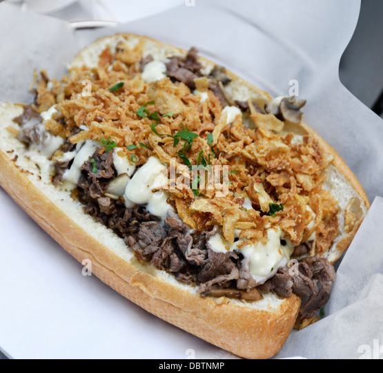 Cheese Steak Stock Photos & Cheese Steak Stock Images - Alamy