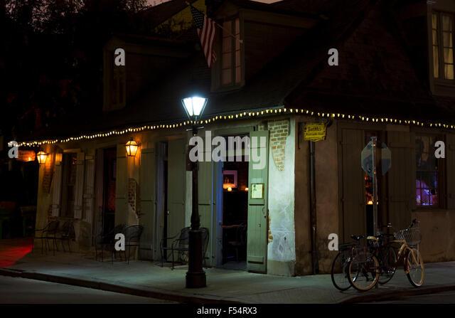 Bourbon Street Lamp Post