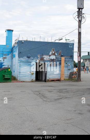 Mural painting color photograph stock photos mural - Exterior house painting anchorage ...