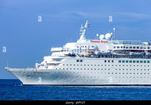 Thomson Cruises Cruise Ship Thomson Stock Photos Thomson Cruises - Thomson dream cruise ship latest news