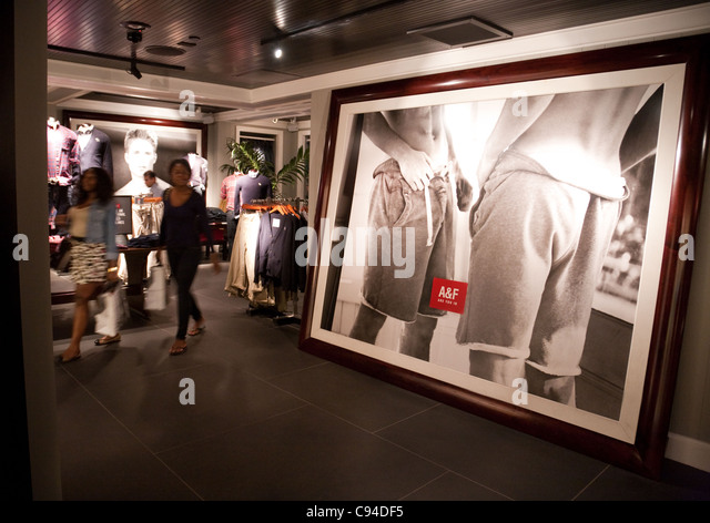 Flagship clothing store