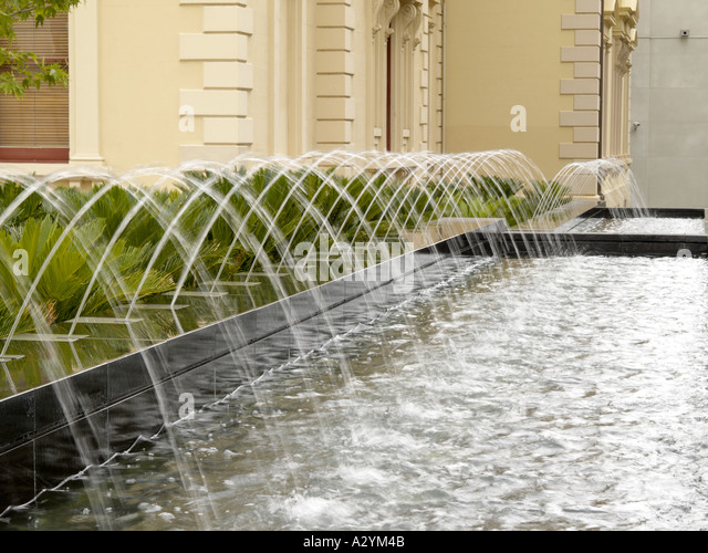 Small water feature garden stock photos small water for Garden water features adelaide