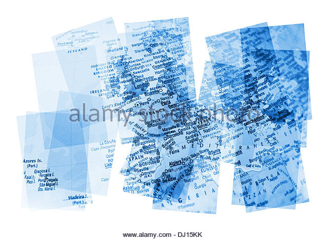 European Countries Map Stock Photos & European Countries ...