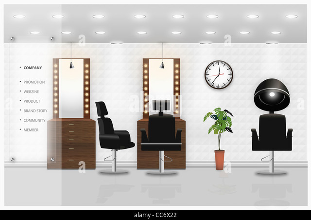 Hairdressers seat stock photos hairdressers seat stock for Ada beauty salon