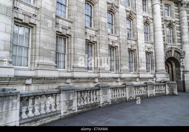 London Stone Building Classic Architecture Windows