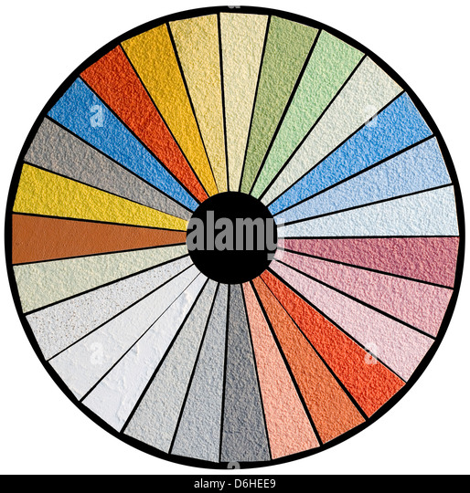 Color Wheel Chart Stock Photos  Color Wheel Chart Stock Images