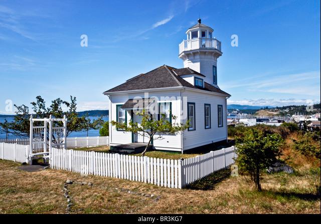 Port Townsend Washington Lighthouse Stock Photos Port