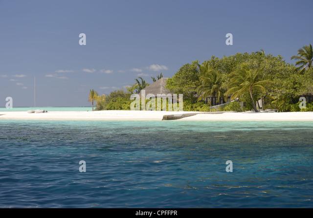 Tropical Beach Huts: Maldives Hut Stock Photos & Maldives Hut Stock Images