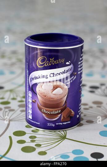 Making Cadbury Drinking Chocolate