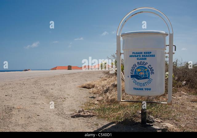 by the California Lighthouse on Arashi Beach, Aruba, Dutch Caribbean ...