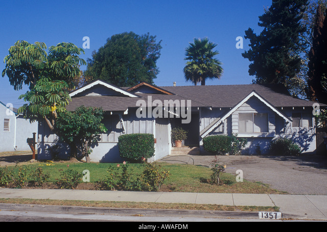 Architecture bungalow contemporary front stock photos for One story beach house