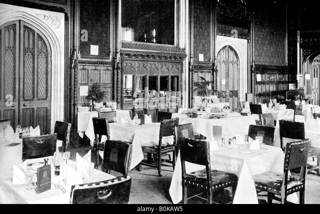 Palace of westminster 1900s stock photos palace of for Dining room d house of commons