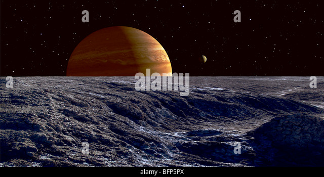 europa under red giant sun - photo #12