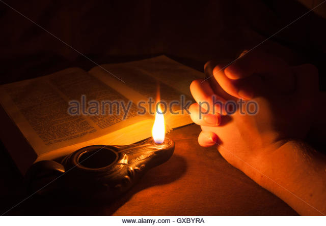 lamp and bible - photo #21