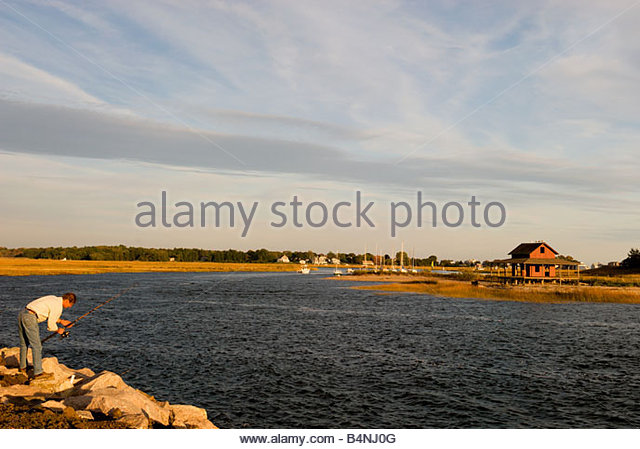 Guilford stock photos guilford stock images alamy for Long island sound fishing