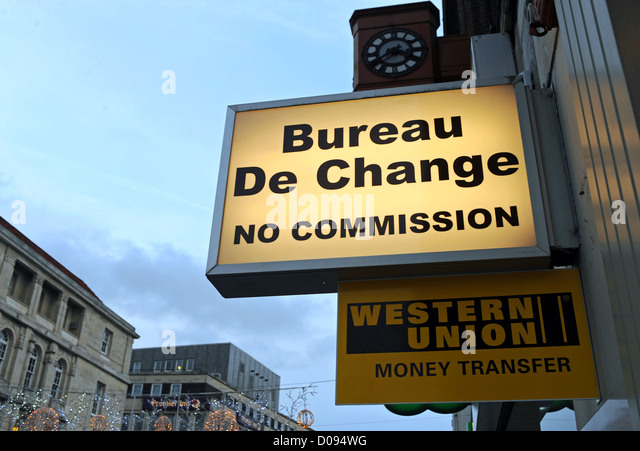 Forex exchange western union