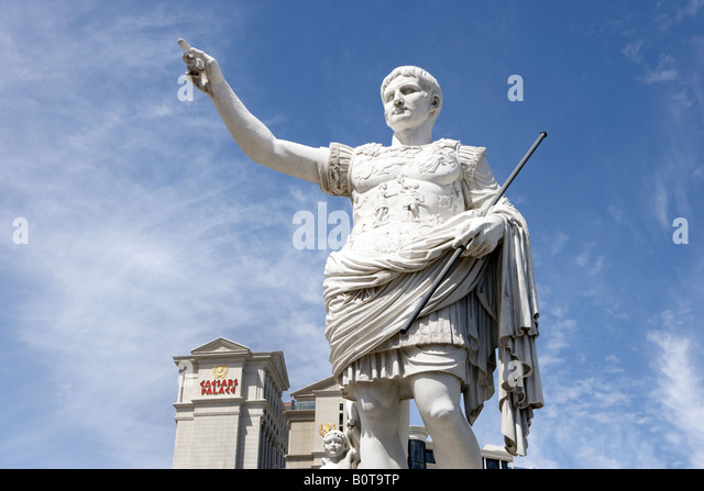 Caesars palace statue stock photos caesars palace statue for Garden statues las vegas nv