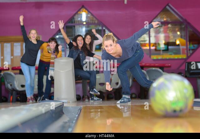 Pin Bowling Leamington Spa