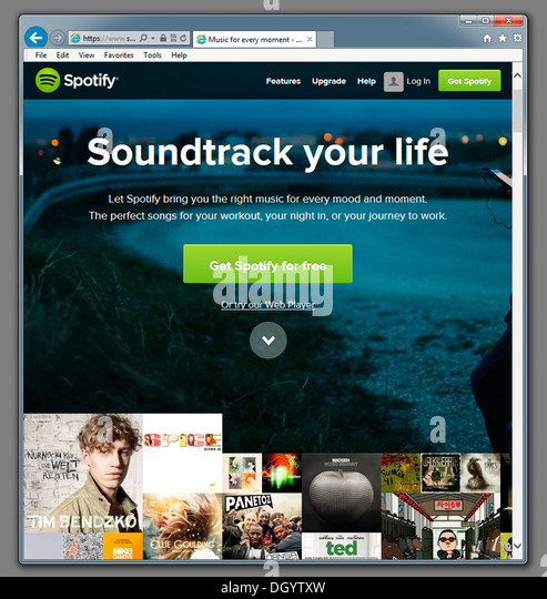 how to play music on spotify website