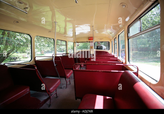 Double Decker Bus Interior Stock Photos & Double Decker ...