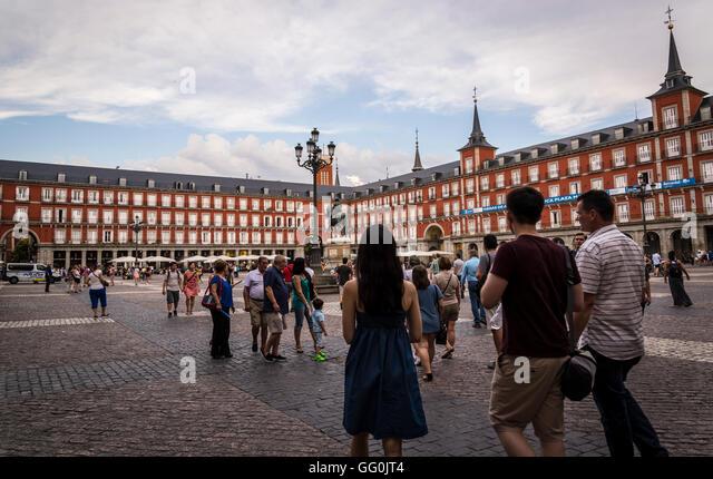 Landmark Madrid Buildings Stock Photos & Landmark Madrid ...