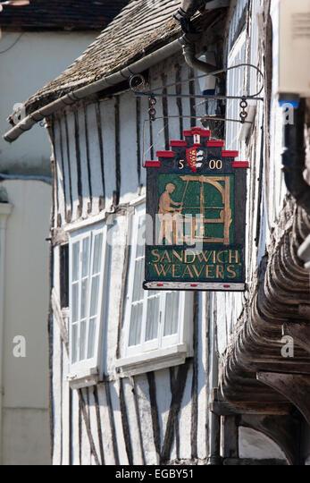 Weavers house 16th century sign over door 1500 & Weavers Door Stock Photos \u0026 Weavers Door Stock Images - Alamy Pezcame.Com