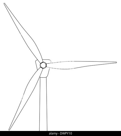 Line Drawing Generator : Turbo generator stock photos