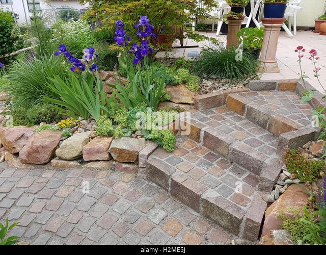 Treppe Garten Stock Photos & Treppe Garten Stock Images - Alamy