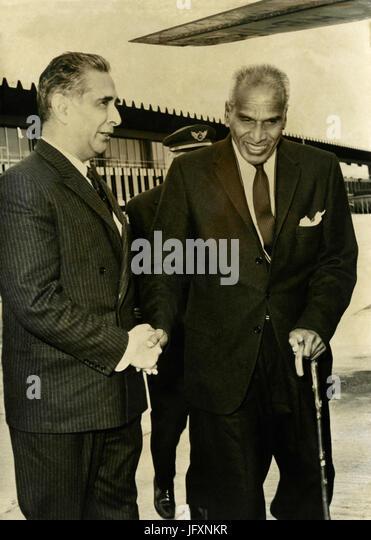 Indian politician Vengalil Krishnan Krishna Menon, 1962 - Stock Image